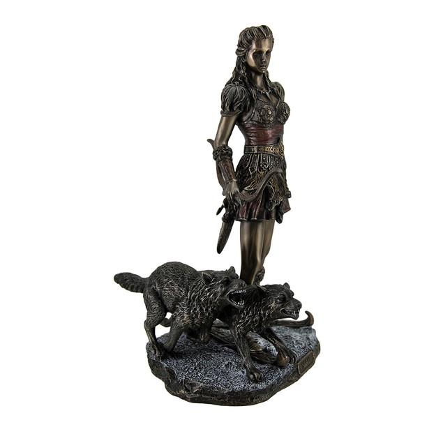 Skadi Norse Giantess Ski Goddess Of Winter And Statues