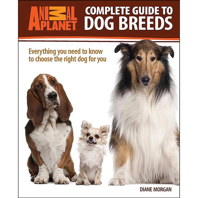 Animal Planet Complete Guide to Dog Breeds Book, Assorted Dogs by TFH Publi