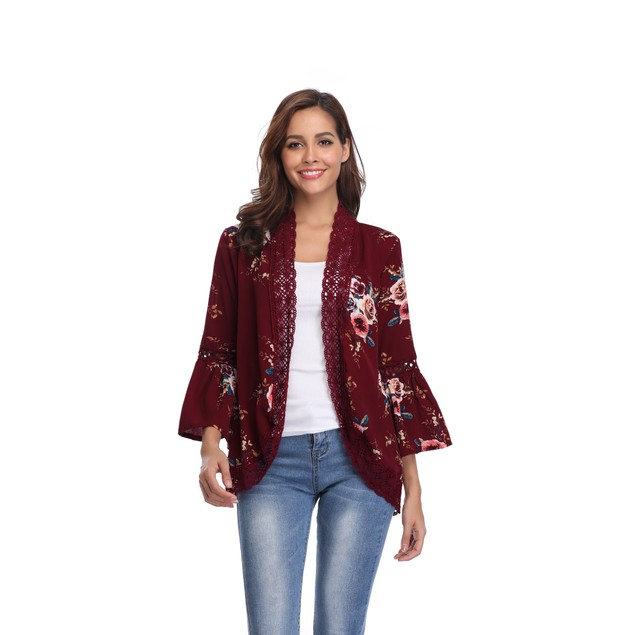 Bell Sleeve Cardigan - 9 Colors