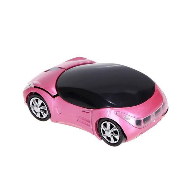 2.4GHz 1200DPI Car Shaped Wireless Optical USB Mouse