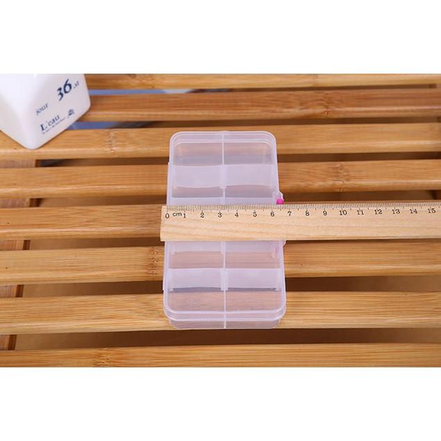 10-Compartment Craft/Parts Storage Box - 4 Colors
