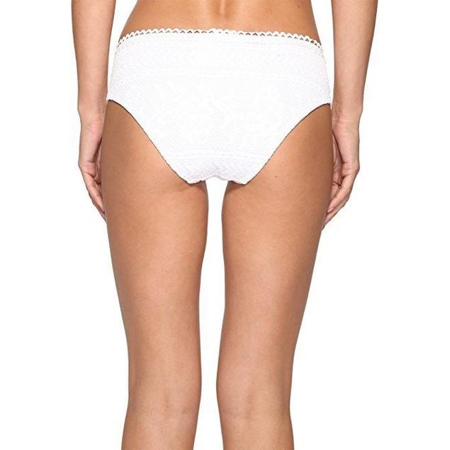 Becca by Rebecca Virtue Women's Tab Side Hipster Bikini Bottom SZ L
