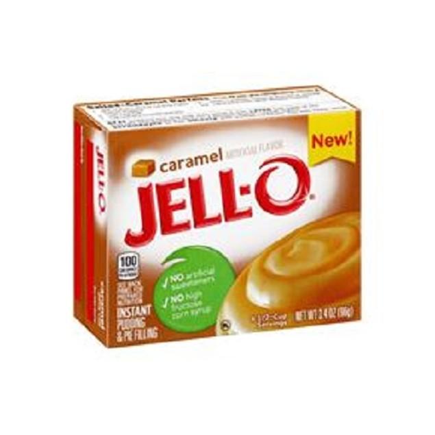 Jell-O Caramel Instant Pudding Dessert Mix