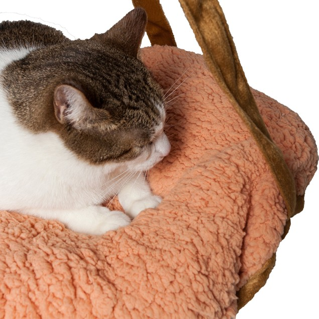 Pet Life Kittyhaus Dual-Lounger Kitty Cat Pillow Hammock Lounge