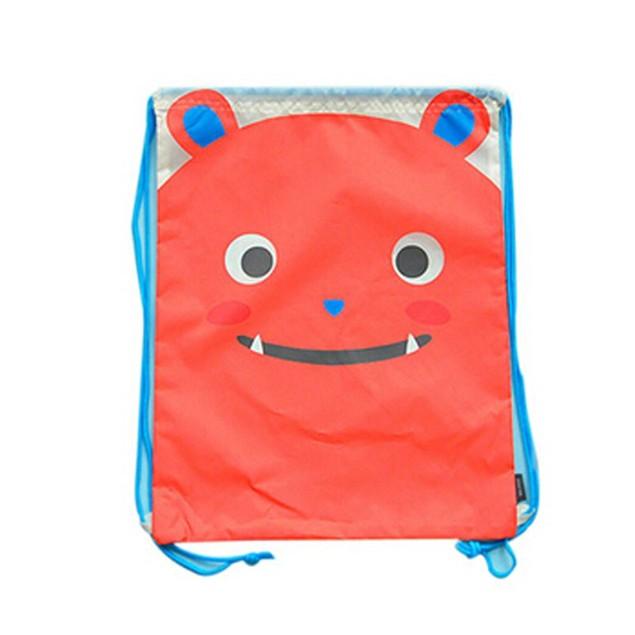 Waterproof Cat String Bag Drawstring Backpack Travel Bag Polyester