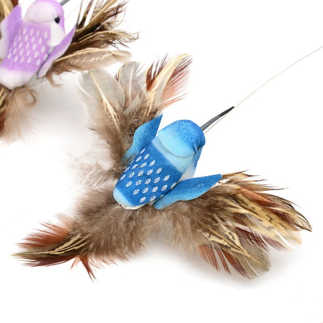 Electric Swivel Birdie Toy for Cats