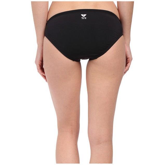 WMNS Black TYR Solid Brites Bikini Bottom SZ: M (8)