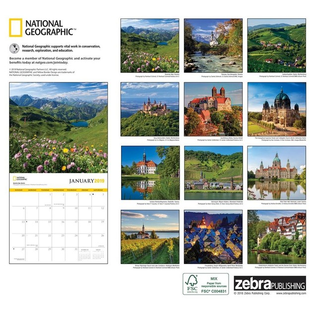Germany NG Wall Calendar, Germany by Calendars