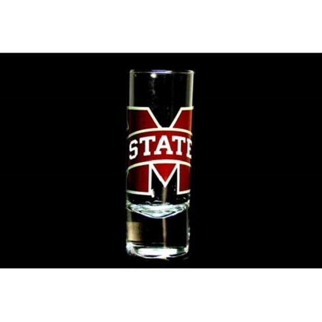 "Mississippi State Bulldogs NCAA ""Hype"" Tall Shot Glass"