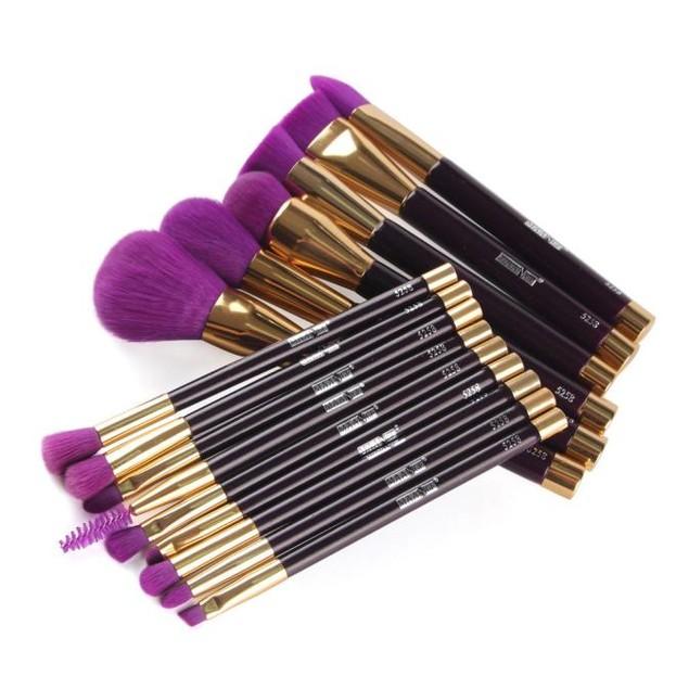 15PCS Cosmetic Makeup Brush  Makeup Brush Eyeshadow Brush
