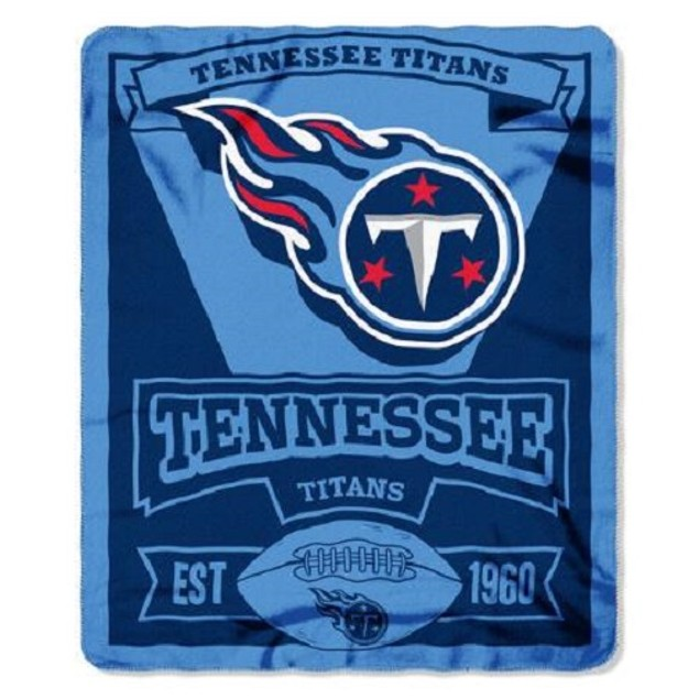 Tennessee Titans NFL Northwest Fleece Throw