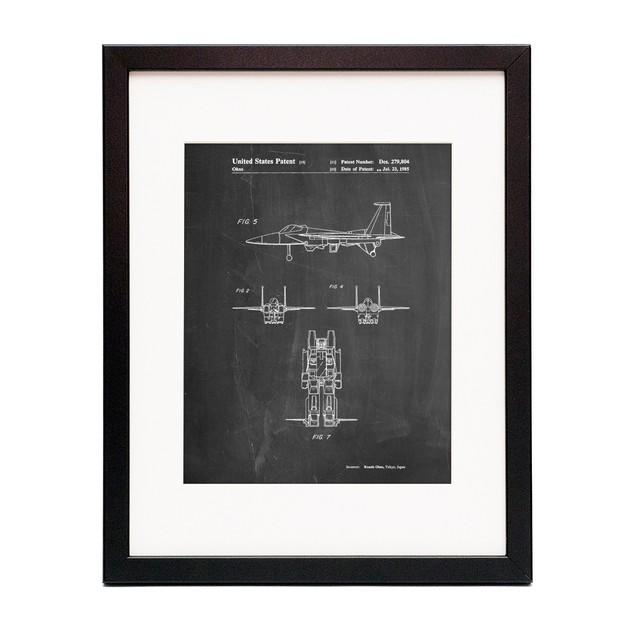 Starscream Patent Poster