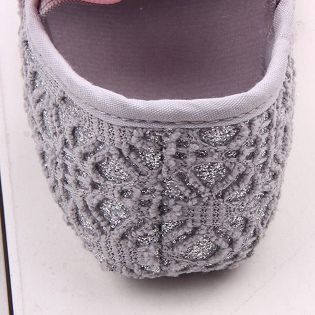 Glitter Baby Shoes Sneaker Anti-slip Soft Sole Toddler