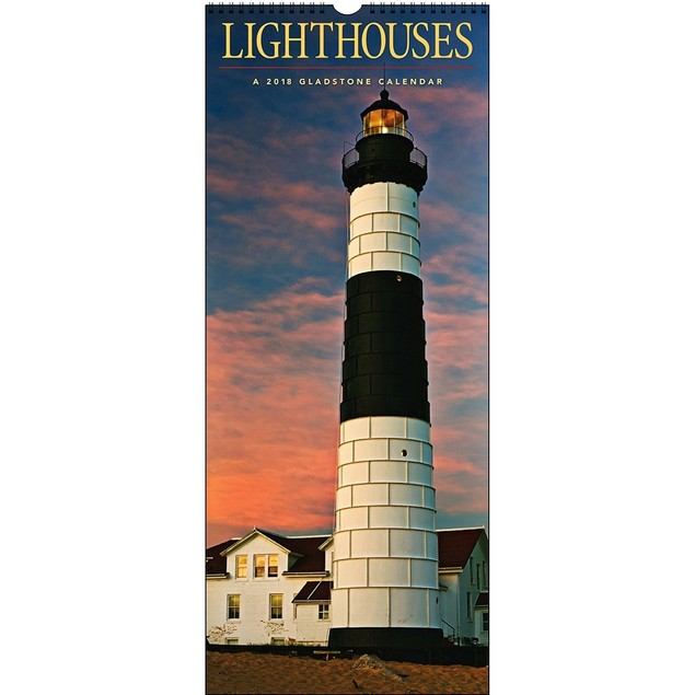 Turner Licensing Lighthouses Office Wall Calendar (18998940020)