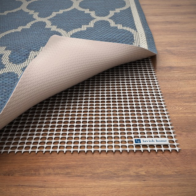 Non-Skid Rubber Rug Pad by Lavish Home