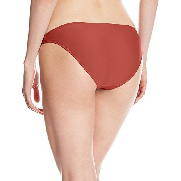 Body Glove Junior's Smoothies Basic Bikini Bottom, Terracotta, Sz M
