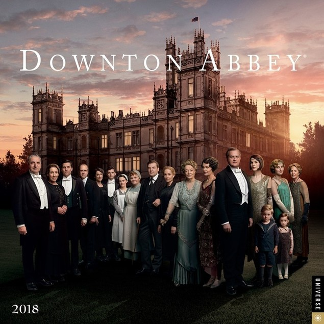Downton Abbey Wall Calendar, Drama TV by Calendars