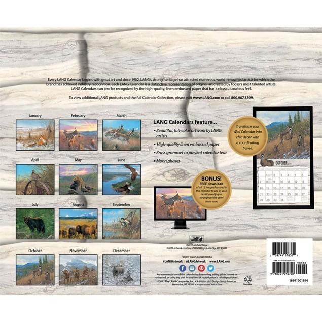 Beyond the Woods Wall Calendar, Lang Folk Art by Calendars
