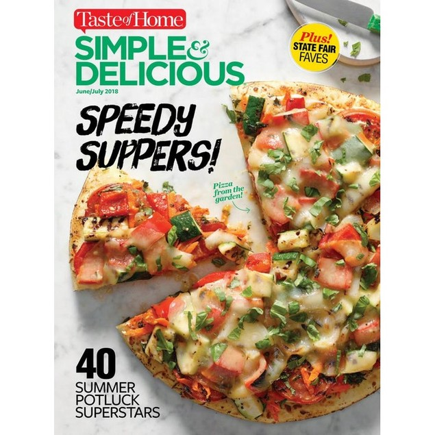 Simple & Delicious Magazine Subscription