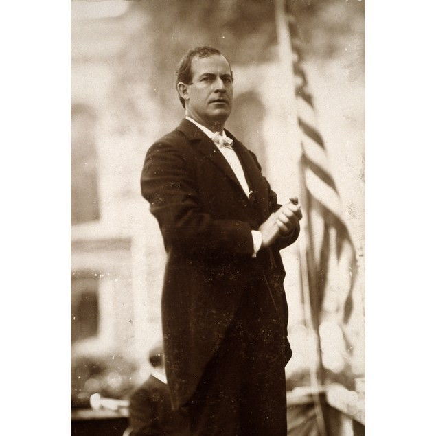 William J. Bryan (1860-1925)./Namerican Lawyer And Political Leader. Photog