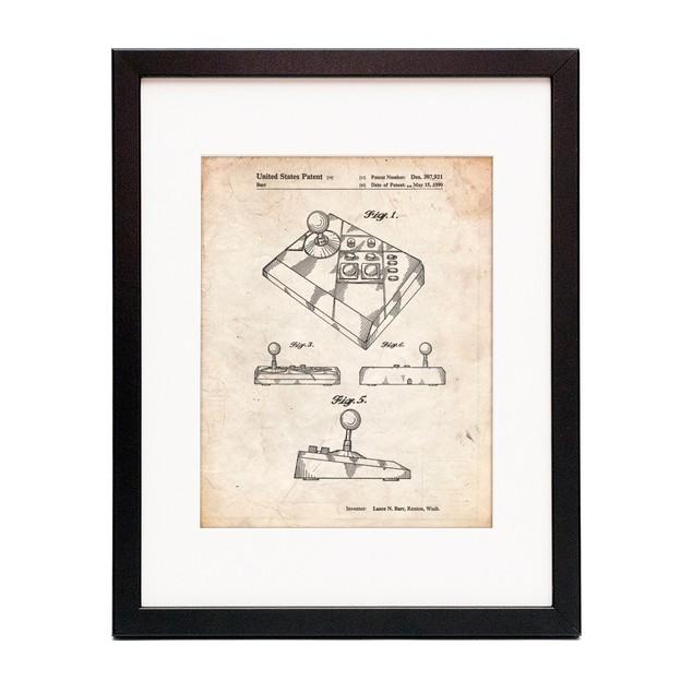 Nintendo Joystick Patent Poster