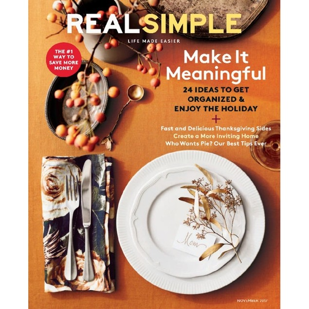 Real Simple Magazine Subscription