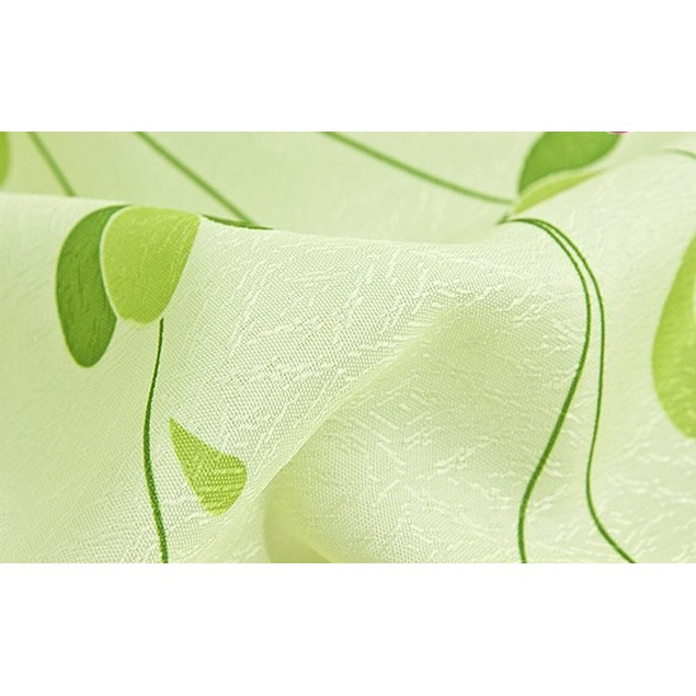 Vine leaves Calico Finished Product Cloth Window Screens Curtain