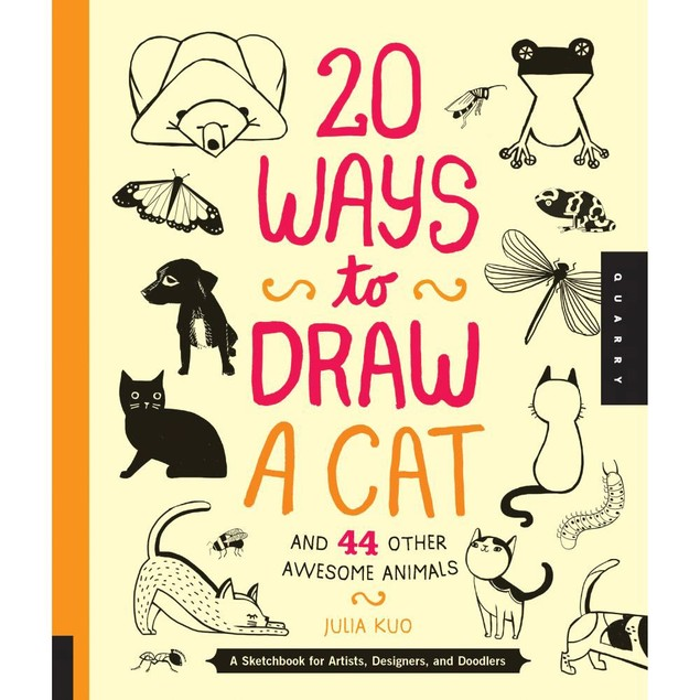 20 Ways to Draw a Cat, Assorted Cats by Motorbooks