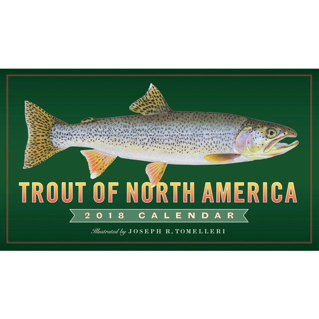 Trout of North America Wall Calendar