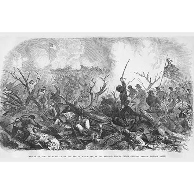 Capture of Fort De Russy, Louisiana under General Andrew Jackson Smith Post
