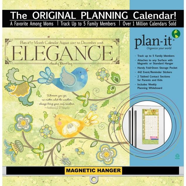 Elegance Plan It Plus Wall Calendar