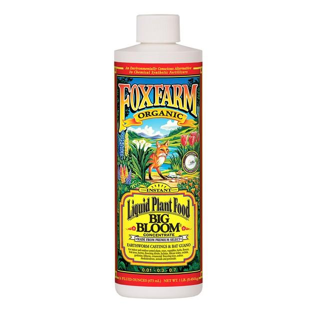 Fox Farm Big Bloom Liquid Concentrate Fertilizer 1-Pint