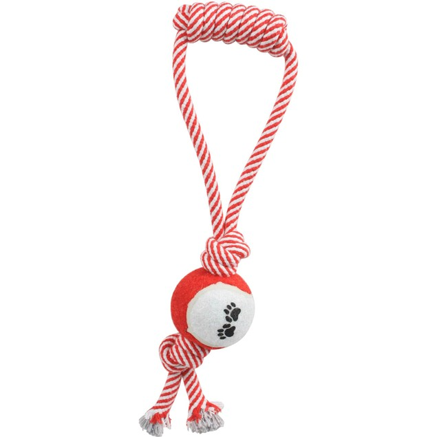 Pull Away'  Rope And Tennis Ball