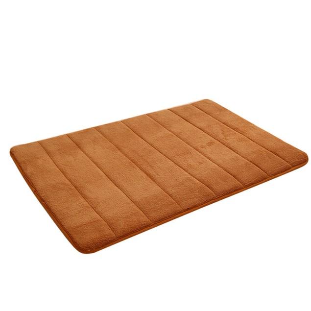 Memory Foam Mat Absorbent Slip-Resistant Bath Mats