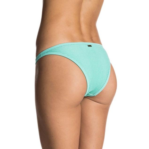 Roxy Women's Ready Made Reversible Surfer Bikini Bottom, Pool Blue SZ