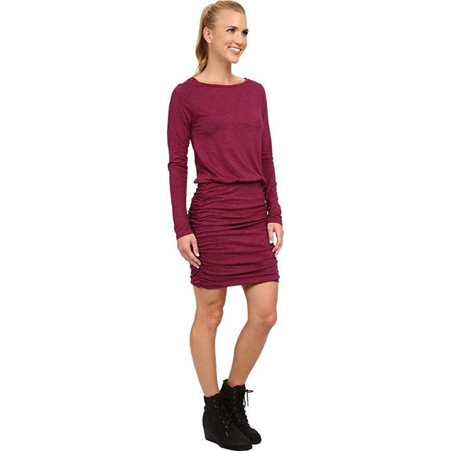 Toad&Co Women's Outfox Dress Dark Thistle Dress XL