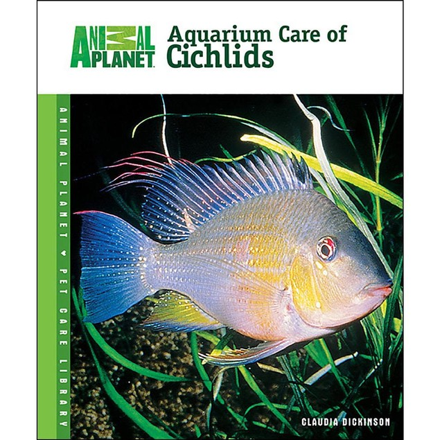 Animal Planet Aquarium Care of Cichlids Book, Sea Life by TFH Publications