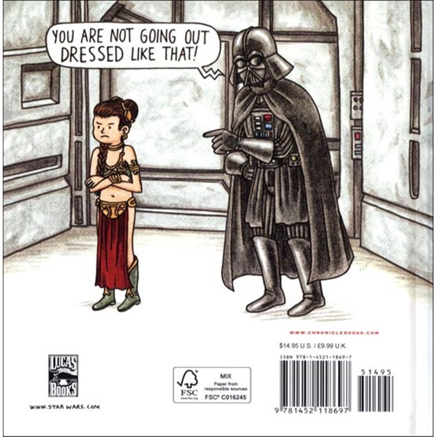 Vader's Little Princess Book, More Humor by Chronicle Books