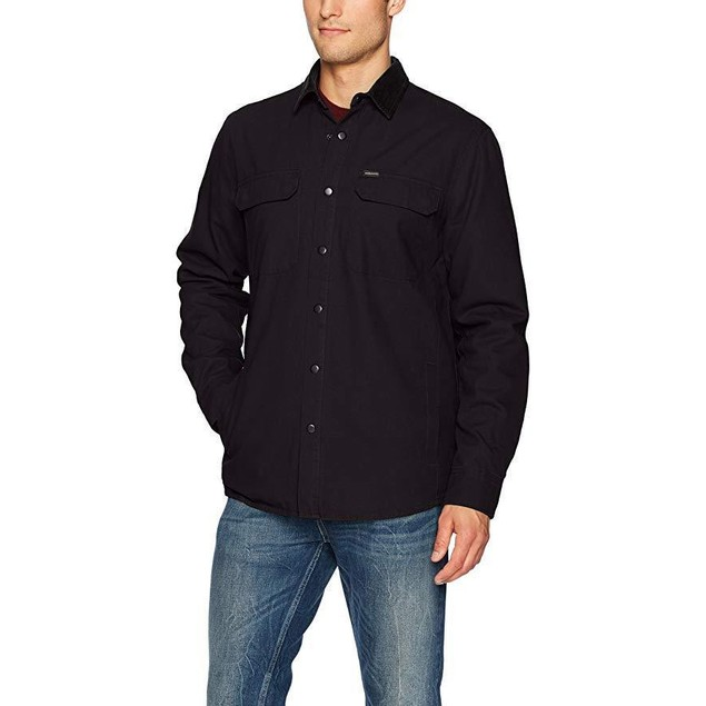 Volcom Men's Larkin Classic Fit Jacket, Black,SZ  M
