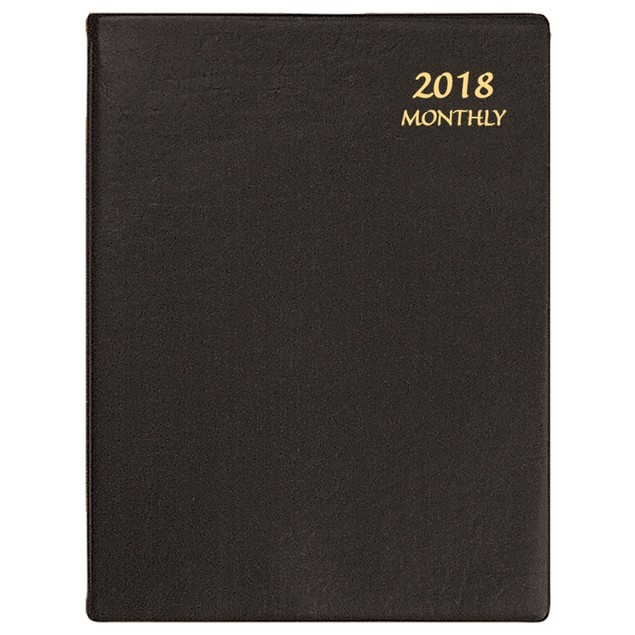 Continental Large Softcover Monthly Planner, Office Organizer by Calendars