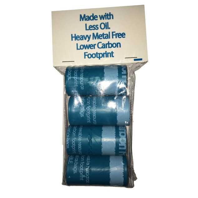 100% Recyclable Carbon Reduced Pet Waste Bags - 4 Pack Refill