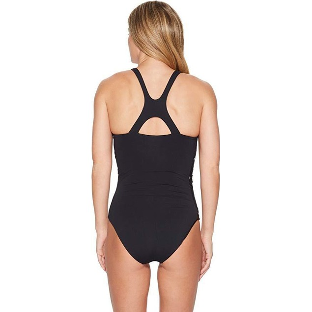 CARVE Designs Women's Sanitas One-Piece Black/Dash X-Small