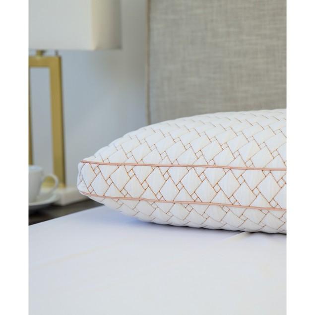 SensorGel Wellness Memory Foam Cluster Pillow, Standard, White