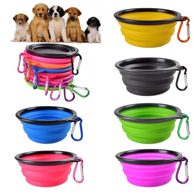 Portable Collapsible Pet Travel Bowl