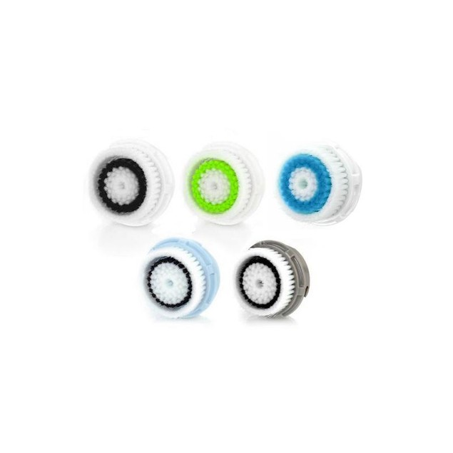 Compatible Facial Brush Head Replacement Set (2 Pack)
