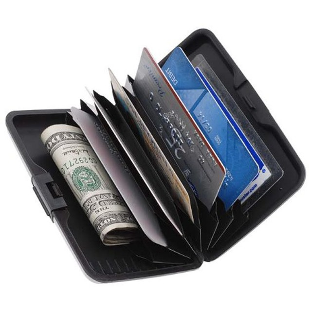 Aluminum RFID Blocking Wallet