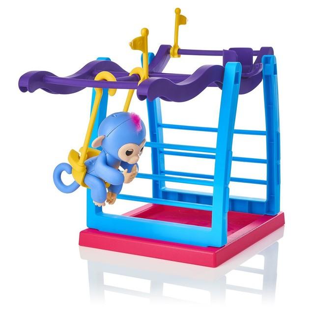 Jungle Swing Gym Playset Interactive Baby Monkey Climbing Stand