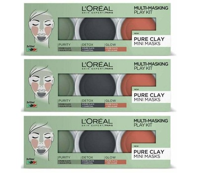 L'Oreal Multi-Masking Pure Clay Mini Masks Was: $39.99 Now: $15.99.
