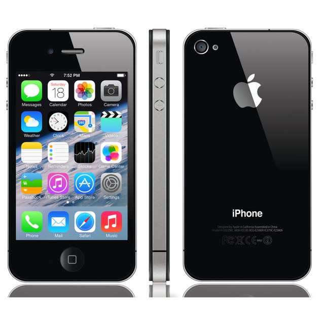 Apple iPhone 4s GSM Unlocked 8GB 16GB 32GB 64GB Black White