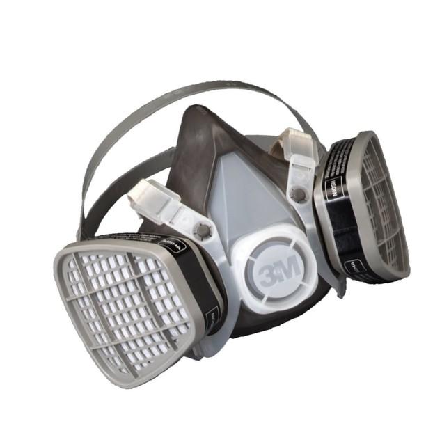 3M Half Facepiece Disposable Respirator Assembly, Organic Vapor